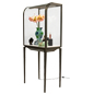 High End Curved Front Jewelry Display Cabinet