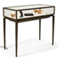 Modern Jewelry Display Table with Stainless Steel Extrusions