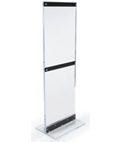 Floor-Standing Acrylic Graphic Holder for Posters