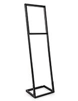 Push fit sign stand frame for 16in wide by 20in tall SEG fabric poster