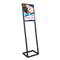 "SEG push fit sign stand 16"" x 20"" for high traffic areas, lobbies, and shops"