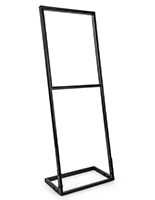 Tension fabric poster stand frame for 22in wide by 28in tall SEG sign