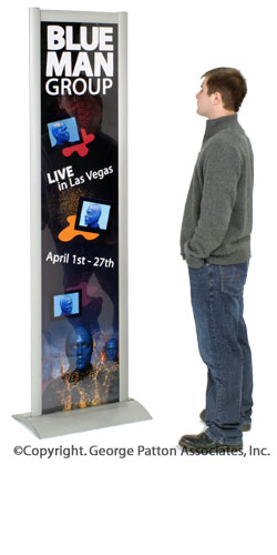 graphic display stands