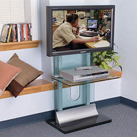 This LCD rack and accessories enhance any environment.