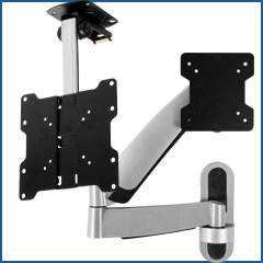 TV wall mounts with articulating arms