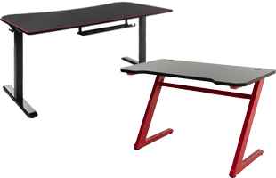 Gaming tables with adjustable designs for PC use