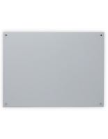 48 x 36 Magnetic Glass Whiteboard, Modern Design