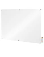 Glass Dry-Erase Board - Wall Mounting