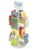 greeting card display racks