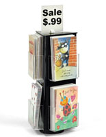 greeting card display spinners