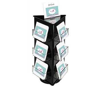Gift Card Hooks and Spinning Racks