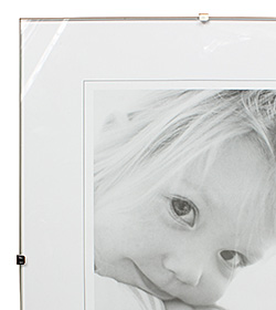 Frameless Glass Picture Frame