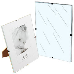 Frameless Frames Clear Acrylic Glass Poster Framing
