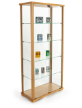 Glass Display Cases Include Both Towers and Counters!