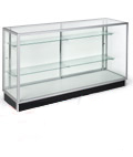 Glass Display Cases are Stocked for Accelerated Shipments!