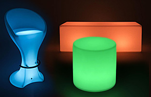 Led Illuminated Glow Chairs