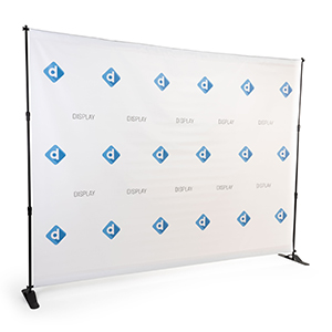10 foot wide celebrity backdrop