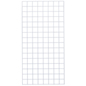 Retail 2' x  4' White Wire Grid Panel