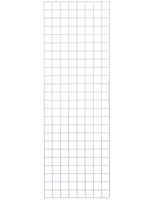 Set of 2 Metal 2' x 6' White Wire Gridwall Panel