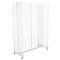 "White Gridwall ""H"" Stand for Retail Stores"