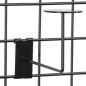 Faceout Black Gridwall Hat Rack