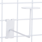 Faceout White Gridwall Hat Rack