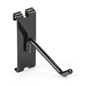 "Sturdy 4"" black gridwall hook"