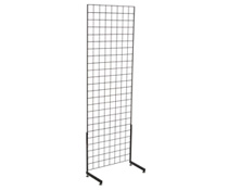 "Black Gridwall ""L"" Stand, Hardware Included"