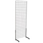 "Black Gridwall ""L"" Stand, Floor Standing"