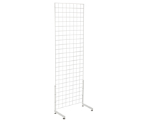 "White Gridwall ""L"" Stand, Hardware Included"