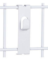 Gridwall Picture Hook, White Coating