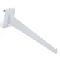 "Set of 2 - 12"" white gridwall knife bracket"