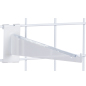 "Faceout 12"" White Gridwall Shelf Bracket"
