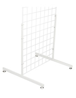 "White Gridwall Base, 24"" Depth"