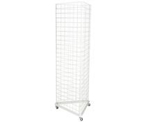 Triangular Gridwall Stand, Supports Existing Accessories