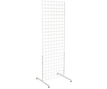 "White Gridwall ""T"" Stand, Hardware Included"