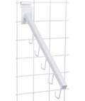 Gridwall Waterfall Hook for Handbags