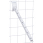 Gridwall Waterfall Display, White Finish