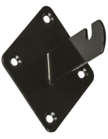 Black Grid Wall Mount Brackets in Set of 8