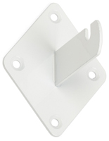 Durable White Grid Wall Bracket Mount