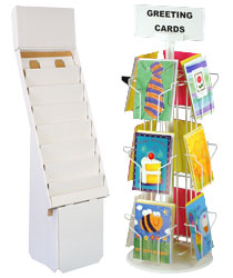 greeting card holders