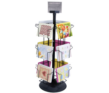Stationary and Spinner Racks for Cards