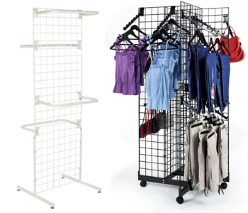 Easy-Set Up - Gridwall Panels & Fixtures