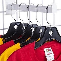 Gridwall Hooks for Apparel