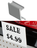price channel sign holder