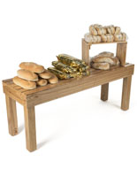 Rubber Wooden Stacking Tables