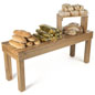 Wooden Stacking Tables for Grocery Stores