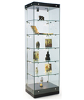 "24"" Wide Glass Tower Cabinet"