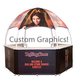 10 x 10 Portable Booth with Custom Graphics
