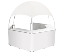 Outdoor White Trade Show Gazebo